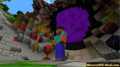 Cinema 4D Minecraft PE Shaders 1.2.0, 1.1.5, 1.1.4, 1.1.0