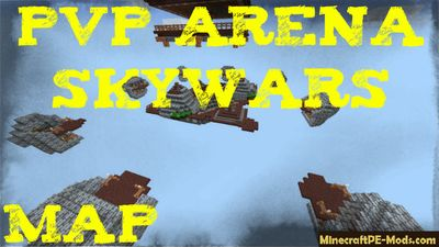 Pvp Arena SkyWars Minecraft PE Map