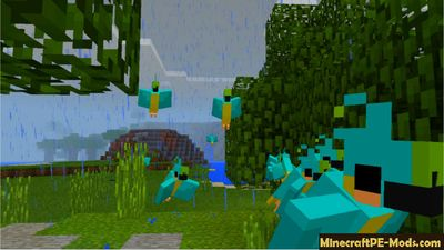 Parrot PC 1.12.2 For Minecraft PE Addon / Mod