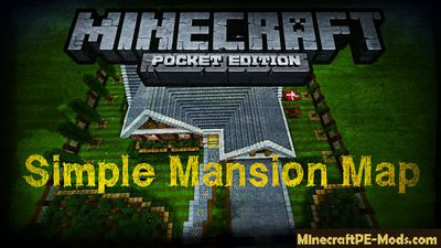 Simple Mansion Minecraft PE Map