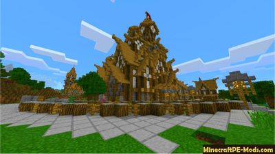 Medieval Witch Hunter RPG Map For MCPE