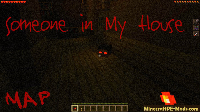 Someone In My House Minecraft PE Horror Map Download - Horror maps fur minecraft