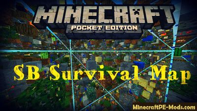 SB Survival Minecraft PE Map