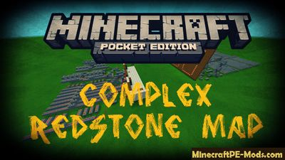 Complex Redstone Minecraft PE Map