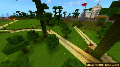 Dinosaur Museum Minecraft PE Map