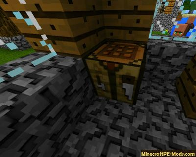 Improved 3D MCPE Texture Pack 1.2.0, 1.1.5, 1.1.4, 1.1.0