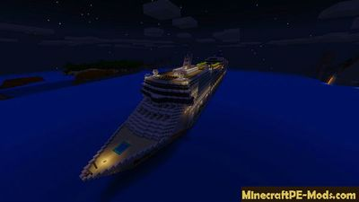 Big Ship Minecraft PE Map