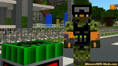 Street Gang Weapons Minecraft PE Mod 1.2.0, 1.1.5, 1.1.4, 1.1.0