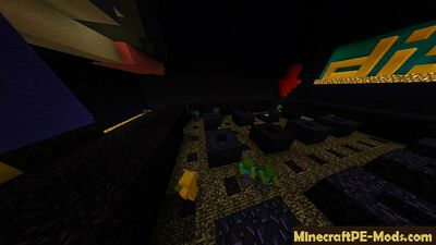 Dandy Bomberman Minecraft PE Map