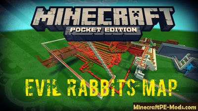 Evil Rabbits Minecraft PE Map
