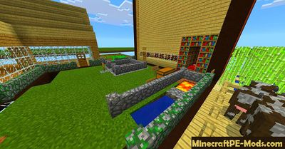 Chest-World Minecraft PE Map