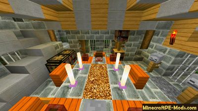 The Herobrine King Adventure Minecraft PE Map
