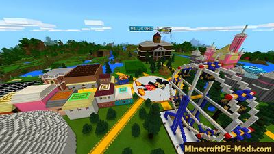 Entertainment City Minecraft PE Map