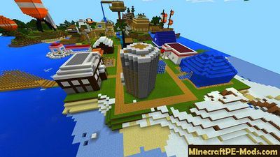 Stampy World Minecraft PE Map
