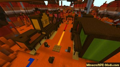 Town Of Duels Minecraft PE Map