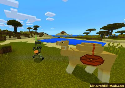 New Animal in the Desert Minecraft PE Addon
