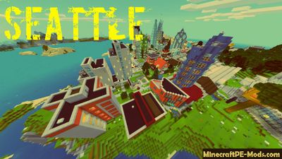 Seattle & Valve Office Minecraft PE Map