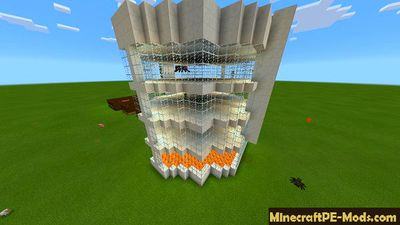 Mini Spleef Arena Minecraft PE Map