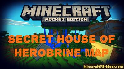 Secret House of Herobrine MCPE Map
