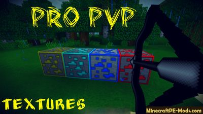 Pro PvP Edition Minecraft PE Texture Pack 1.2.0, 1.1.5, 1.1.4, 1.1.0