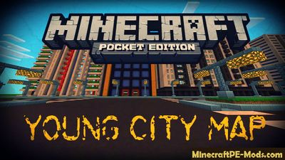 Young City Minecraft PE Map