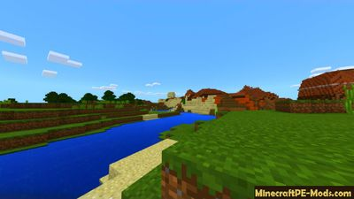 Village with Treasure Chest MCPE Seed