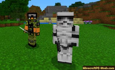 Star Wars Gunship Minecraft PE Mod 1.2.0, 1.1.5, 1.1.4, 1.1.0