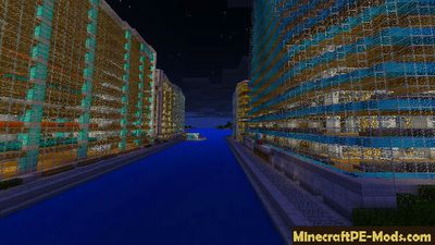Big Fashion City Minecraft PE Map
