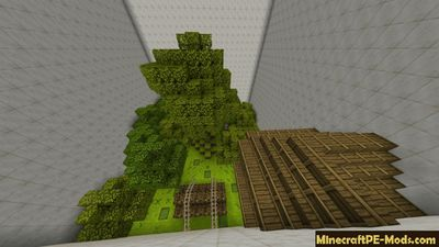 Secret Buttons Minecraft PE Map