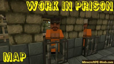 Work in Prison MCPE Map