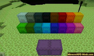 Colored Shulker Boxes - Review of Minecraft PE 1.2.0