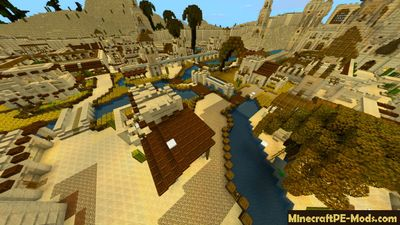 Ancient United Arab Emirates MCPE Map