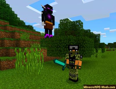 The Ender Mage Minecraft PE Mod 1.2.0, 1.1.5, 1.1.4, 1.1.0