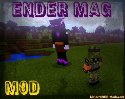 The Ender Mage Minecraft PE Mod 1.2.5, 1.2.3, 1.2.2, 1.2.0