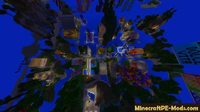 City of Films Minecraft PE Map