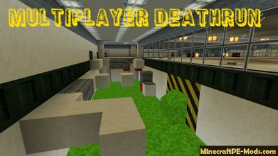 Multiplayer Laboratory Deathrun Minecraft PE Map