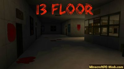 13 Floor Minecraft PE Horror Map