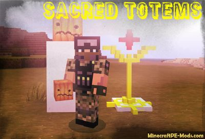 Sacred Totems of Protection Minecraft PE Mod 1.2.11, 1.2.10, 1.2.8