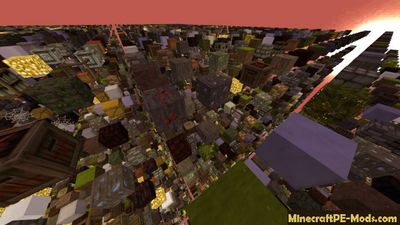 Custom Map Generator Minecraft PE Mod 1.1.4, 1.1.3, 1.1.2