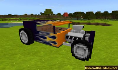 Buggy Car Minecraft PE Addon