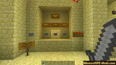 Modded Battle Arena Minecraft PE Map