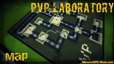 Testing PvP in Laboratory Minecraft PE Map