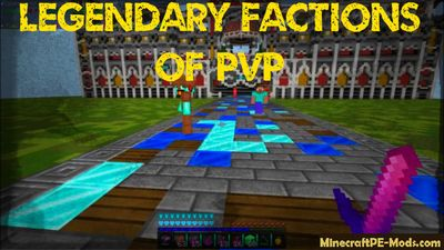 Legendary Factions of PvP Minecraft PE Server