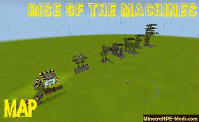 Rise Of The Machines Minecraft PE Map