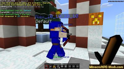 PvP King 128x Minecraft PE Texture Pack 1.2.0, 1.1.5, 1.1.0