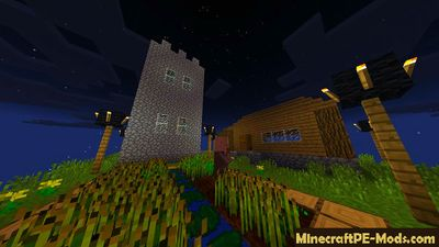 Sky Survival Minecraft PE Map