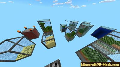 Find Exit from Cube Minecraft PE Map