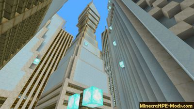 GigaPolis Minecraft PE Map