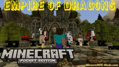 Empire of Dragons Minecraft PE Servers