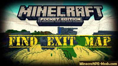Find Exit Minecraft PE Map